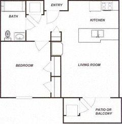 Brookshire Senior Living Floor Plan