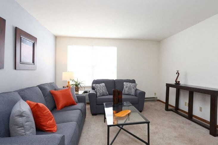 Danbury livingroom Town and Country Apartments Urbana, IL