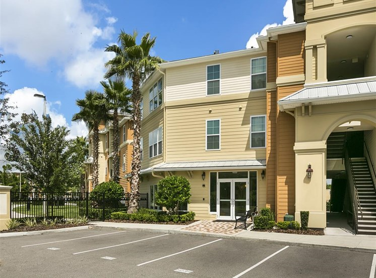 Beach Village Apartments for rent in Palm Coast, FL. Make this community your new home or visit other Concord Rents communities at ConcordRents.com. Building exterior