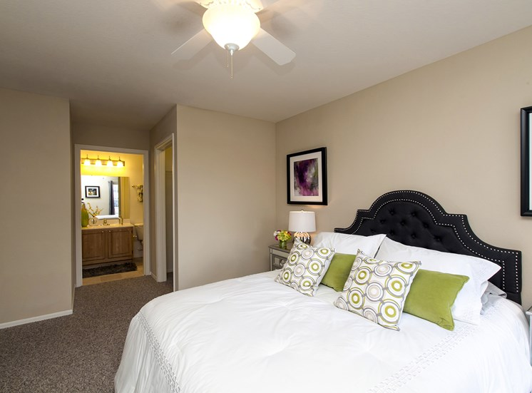 Master Bedroom at Belle Isle, for more communities, visit Concord Rents at ConcordRents.com
