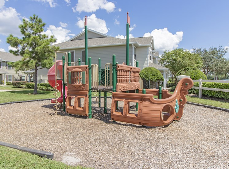 Ample And Open Children'S Play Area