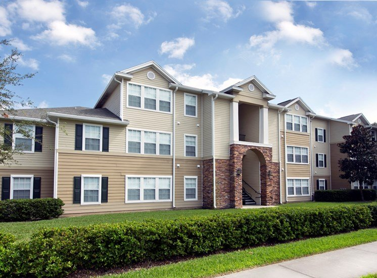 Brookwood Forest Apartments for rent in Jacksonville, FL. Make this community your new home or visit other ConcordRENTS communities at ConcordRENTS.com. Building exterior