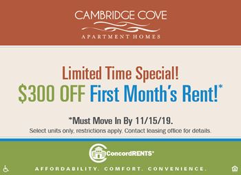 1700 Cambridge Cove Pass 1-4 Beds Apartment for Rent Photo Gallery 1