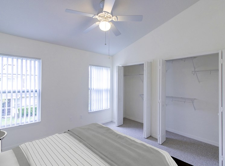 Covington Club Apartments for rent in Oviedo, FL. Make this community your new home or visit other Concord Rents communities at ConcordRents.com. Master bedroom