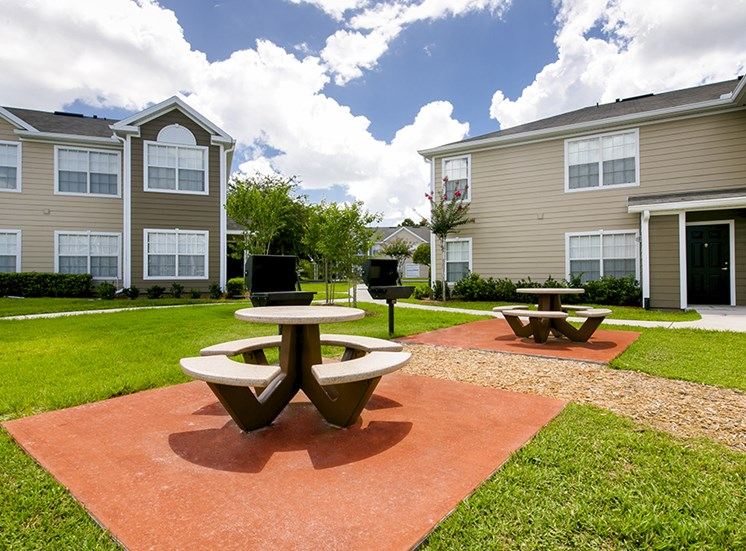 Brooke Commons Apartments for rent in Orlando, FL. Make this community your new home or visit other Concord Rents communities at ConcordRents.com. Picnic tables