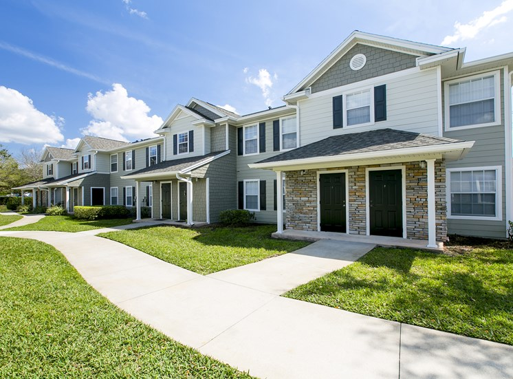 Apartment Home Building Exterior at Hatteras Sound, for more communities, visit Concord Rents at ConcordRents.com