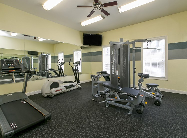 Fitness Center at Hatteras Sound, for more communities, visit Concord Rents at ConcordRents.com