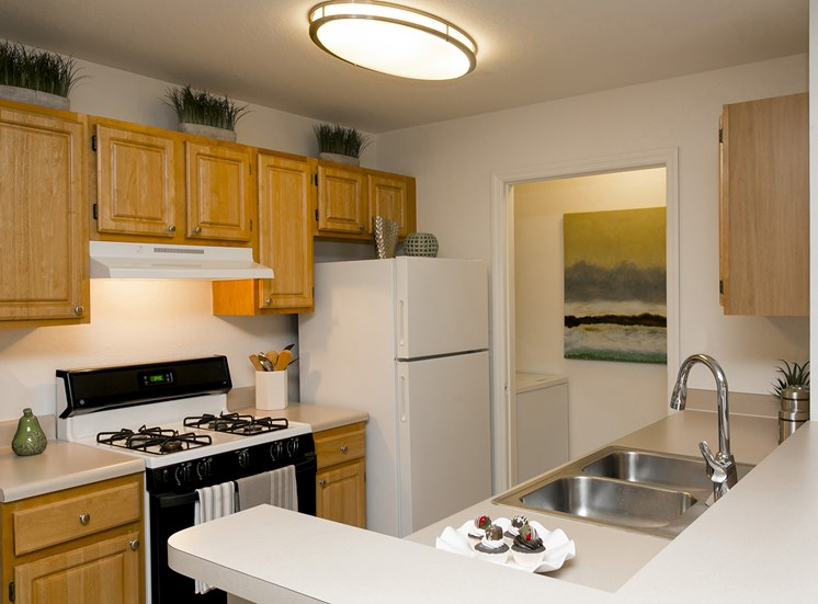 Kitchen at Hatteras Sound, for more communities, visit Concord Rents at ConcordRents.com