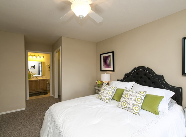 Master Bedroom at Hatteras Sound, for more communities, visit Concord Rents at ConcordRents.com