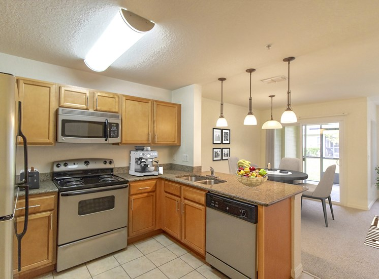 Howell Branch Cove Apartments for rent in Winter Park, FL. Make this community your new home or visit other Concord Rents communities at ConcordRents.com. Kitchen