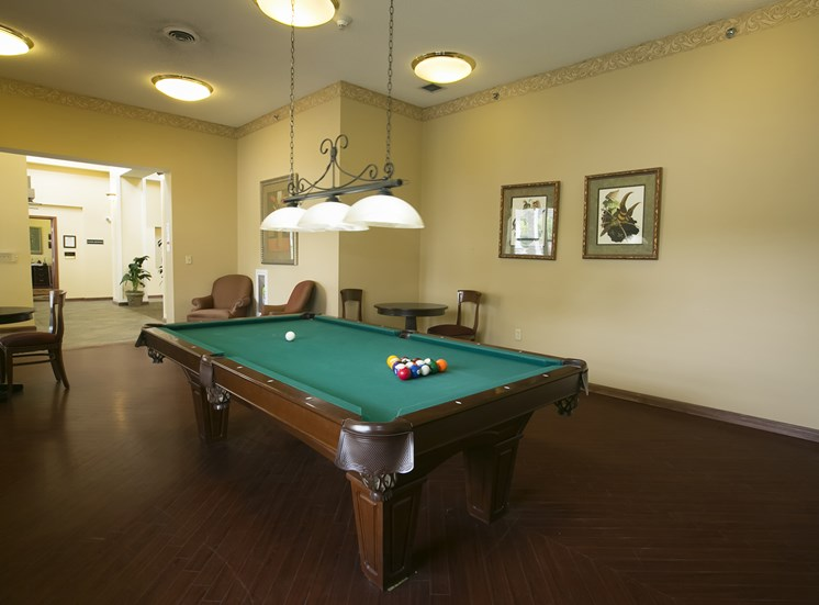 Lexington Club at Galleria Apartments for rent in Poughkeepsie, NY. Make this community your new home or visit other ConcordRENTS communities at ConcordRENTS.com. Pool table