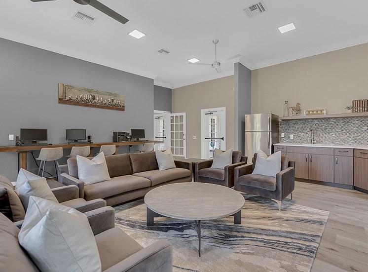 Living Room With Plenty Of Natural Lights
