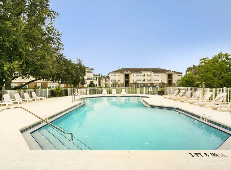 Swimming Pool at University Club, for more communities, visit Concord Rents at ConcordRents.com