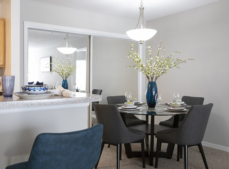 Sophisticated Dining Area