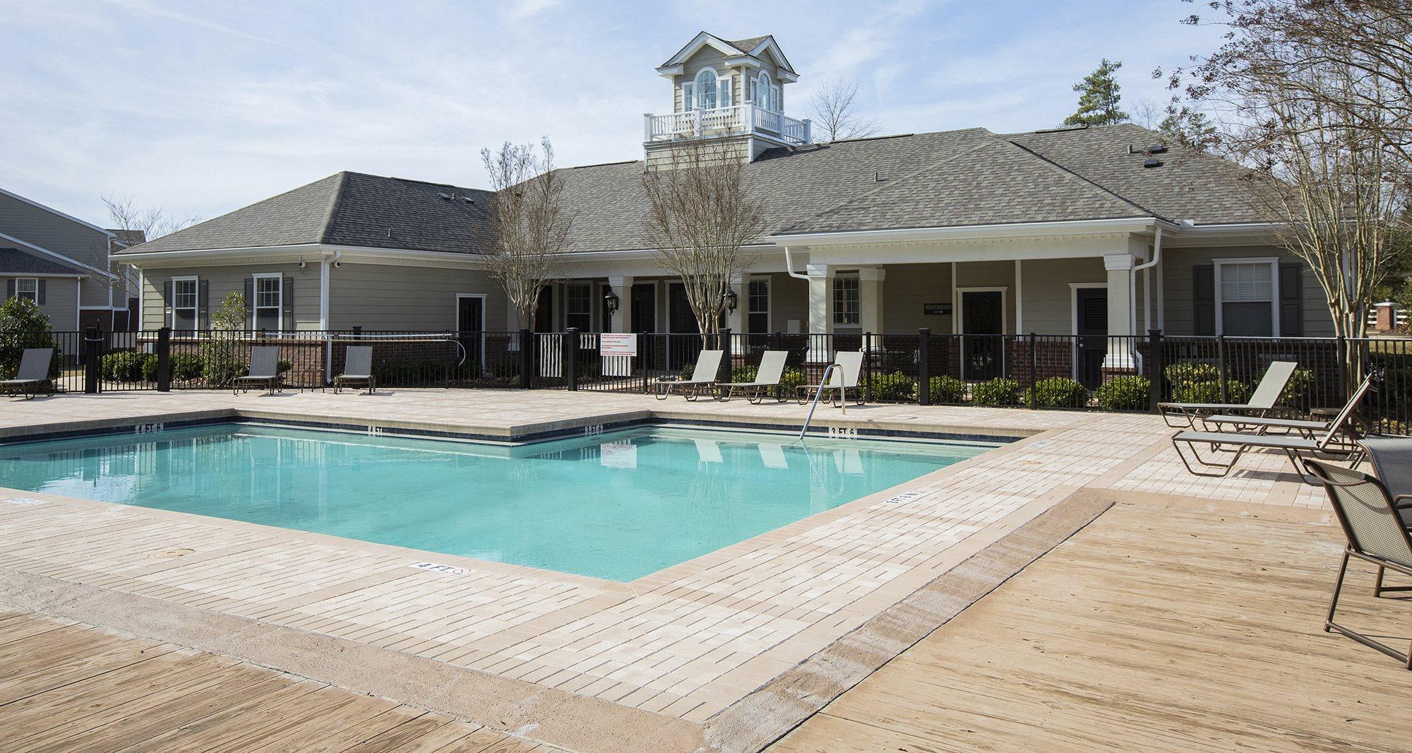 Pristine swimming pool