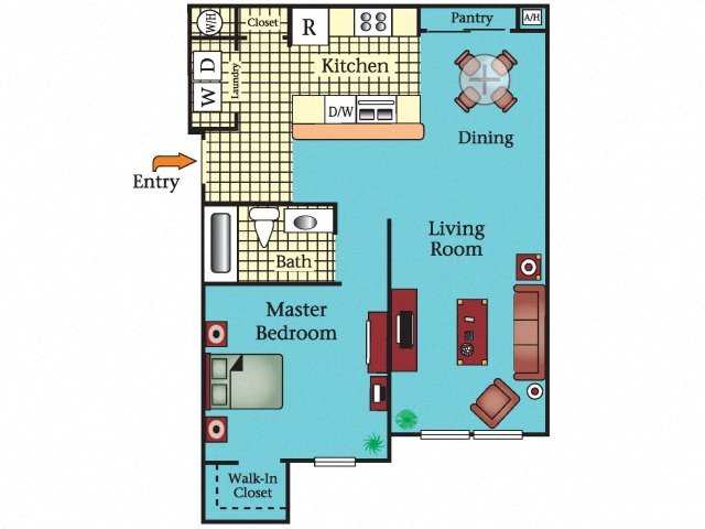The Ashton Floor Plan 1