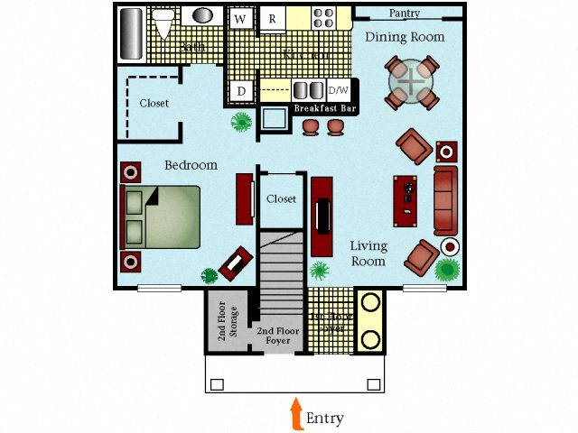Alexandria Floor Plan 2