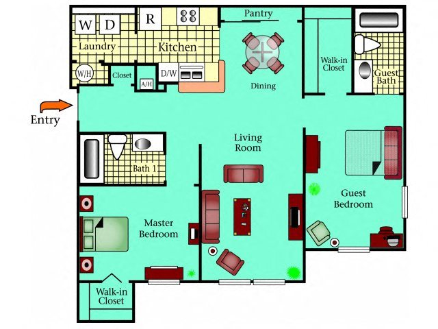 The Banyan Floor Plan 3