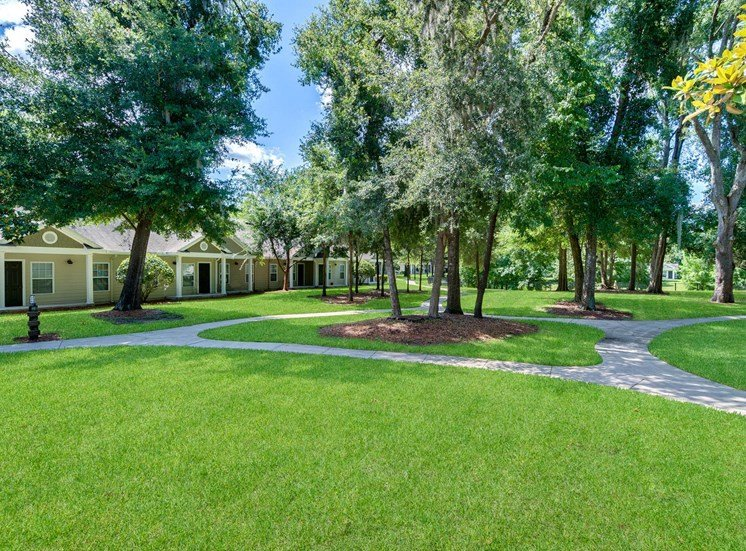 Spring Lake Cove Apartments for rent in Fruitland Park, FL. Make this community your new home or visit other Concord Rents communities at ConcordRents.com. Outdoor walking area