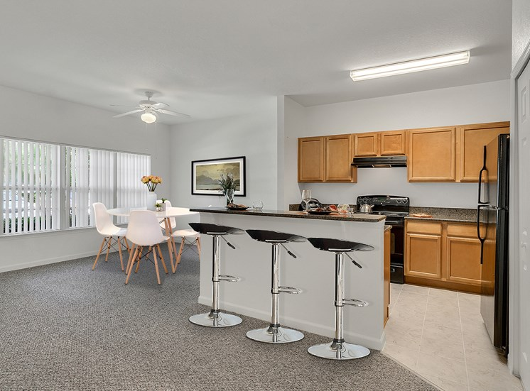Spring Lake Cove Apartments for rent in Fruitland Park, FL. Make this community your new home or visit other Concord Rents communities at ConcordRents.com. Kitchen