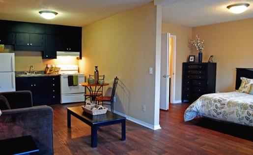 Tara Garden Apartments in Huntsville, AL 35806 spacious studio