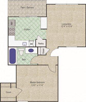 Coronado Floor Plan 1