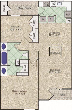 Andover Floor Plan 4