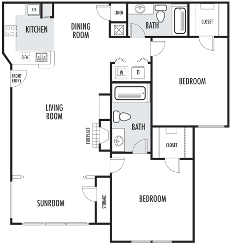 The Bradford Floor Plan 5