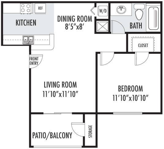 The Cobblestone Floor Plan 1