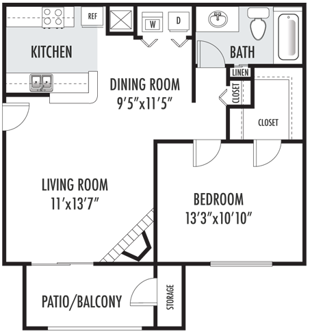 The Greenbriar Floor Plan 2