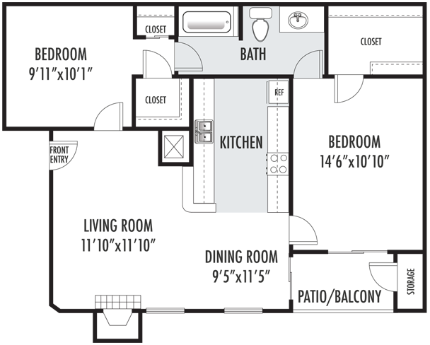 The Canterbury Floor Plan 3