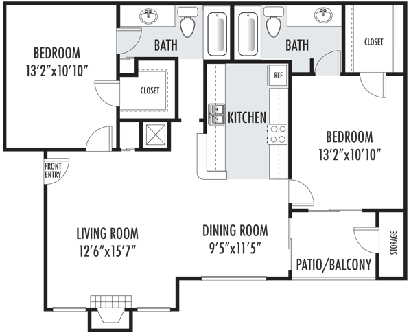 The Edinburgh Floor Plan 4