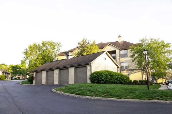 The New Madison at Adams Farm Greensboro, NC Apartments Garage