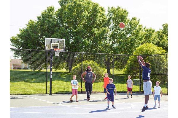 The New Madison at Adams Farm Greensboro, NC Apartments Basketball Court