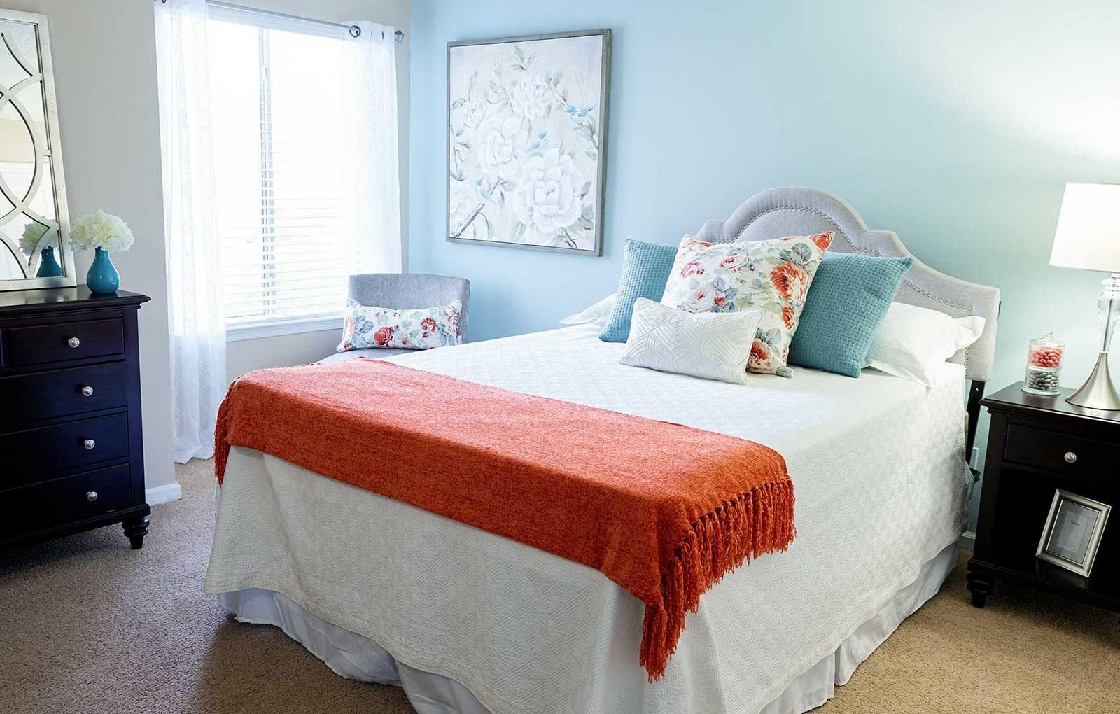 The New Madison at Adams Farm Greensboro, NC Apartments Bedroom