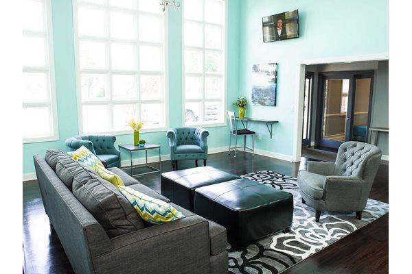 The New Madison at Adams Farm Greensboro, NC Apartments WiFi lounge