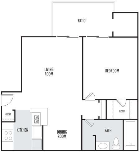 The Rose Floor Plan 1