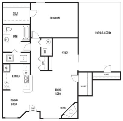 Dublin A4B Floor Plan 5