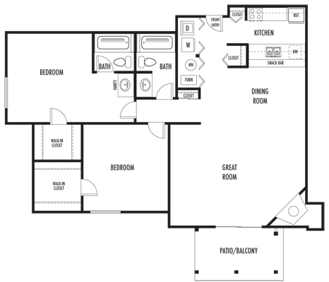 Palermo Floor Plan 14