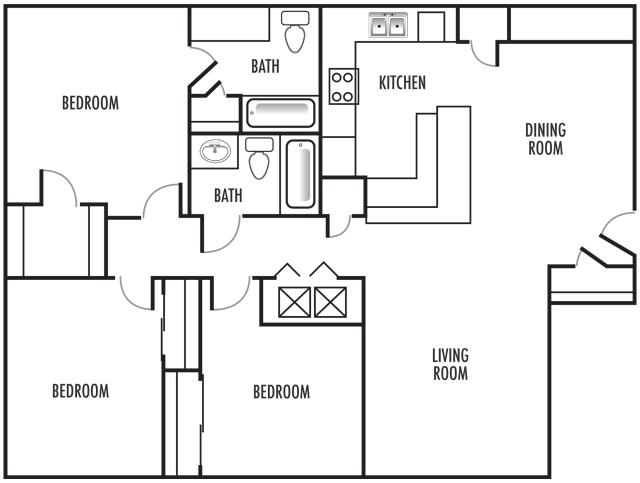 3x2 Floor Plan 8