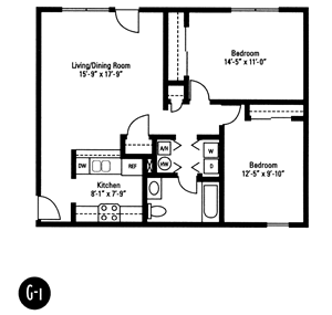 Crawford Square Floor Plans