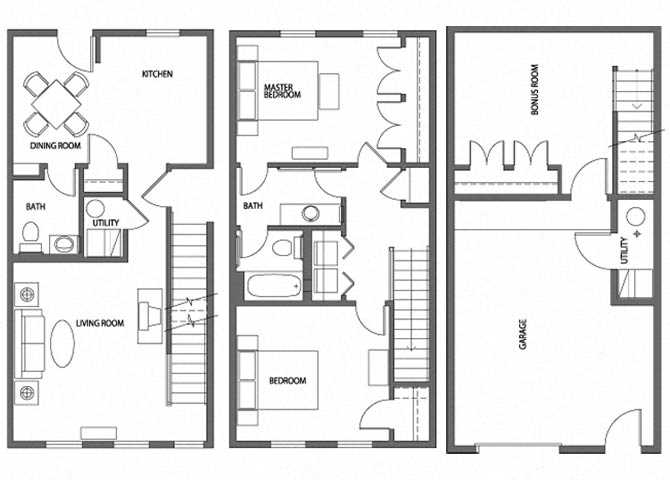 Floor Plans Of Heritage Park Apartments In Minneapolis MN