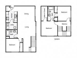 Jazz District Apartments Floor Plans