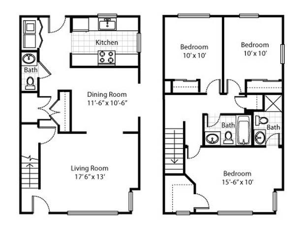 Madison Heights Floor Plans