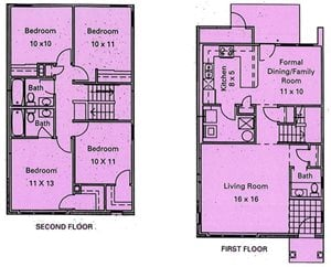 Murphy Park Apartments Floor Plans