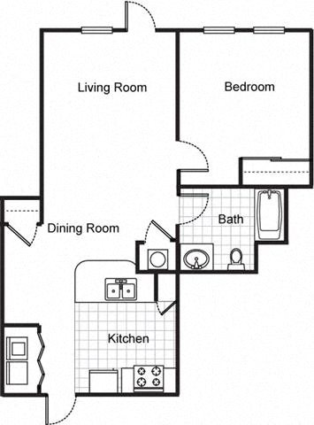 Northpark at Scott Carver Apartments Floor Plan