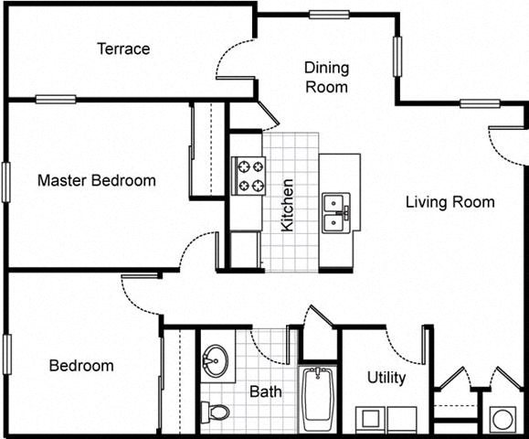 Northpark at Scott Carver Apartments Floor Plan