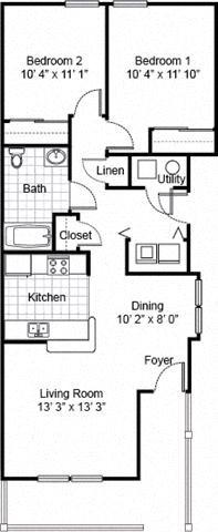 Parsons Place Apartments Floor Plans