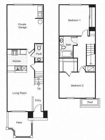 Pueblo Del Sol Apartments Floor Plans