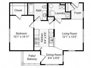 Renaissance Place at Grand Apartments Floor Plans